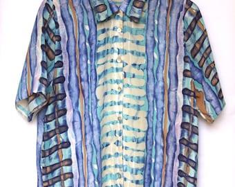 Vintage 1990's Printed Blouse/Shirt