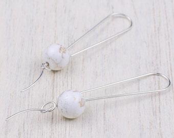 fishing knot earrings