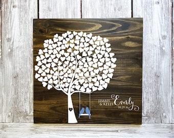 Wedding Guest Book Alternative, Tree Guest Book, Leaf Guest Book Tree, Tree Wedding Guest Book, Wedding Guest Book Tree, Wedding Shower Gift