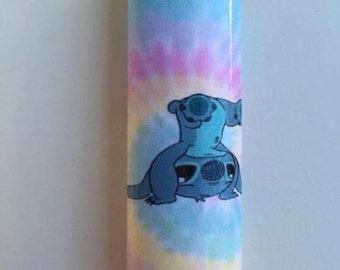 Stitch tie-dye custom BIC lighter