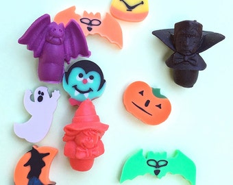 Halloween Eraser Collection Set
