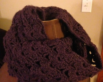 Crochet Cowl, Crochet Scarf, Chunky Cowl, Winter Accessories