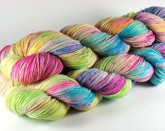 LOL - 100% Merino - 300m / 100 g - hand dyed,.