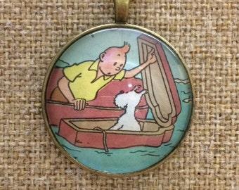 Tintin Cigars of the Pharaoh Necklace