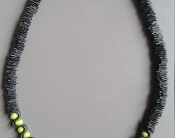 necklace of bicycle tire