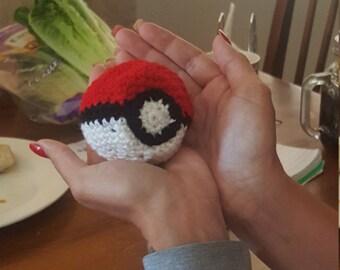 Pokeball-crochet Hackysac