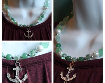 The Adventurous Anchor Necklace