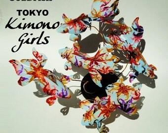 interior,art,object,sculpture,rare,koi,fish,gold fish,handmade,swarovski,crystal,Black diamond,tabletop,display,desktop,TOKYO,KIMONO,GIRLS