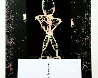 Sculpture Postcard #3