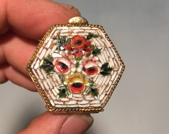 Vintage Italian made Pill/Snuff Box