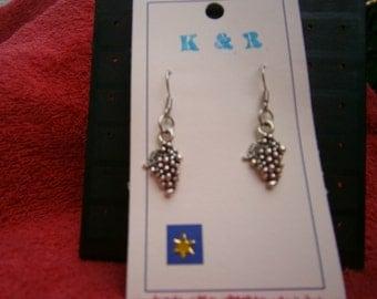 Grapes earrings