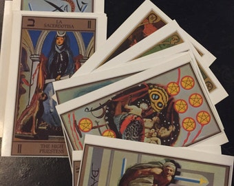 Tarot Postcard Reading