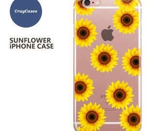 sunflower iphone 6s Case, sunflower iPhone 7 Case, sunflower iPhone 6 Plus Case, sunflower iPhone 6s Plus Case (Shipped from UK)