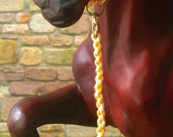 Halter horse traditional orange/white