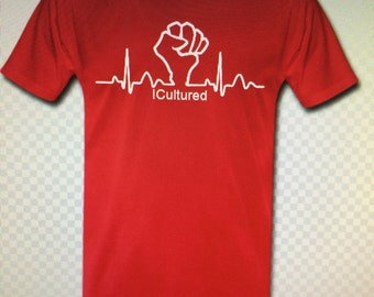 Red Icultured Apparel Tee