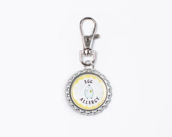 food allergy, allergy tags, dairy allergy, allergy jewelry, allergy accessories, egg allergy, medical ID
