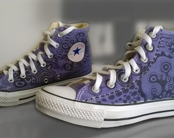 Customised Converse High Top Sneakers