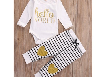 Hello World 2-Piece Set