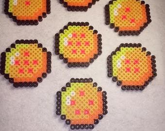 Dragon balls from Dragon Ball Saga Coasters or Magnets
