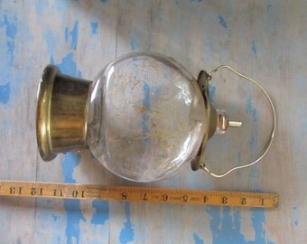 vintage lantern bottle, novelty bottle