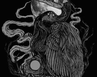 Heron Giclee Print 11x14