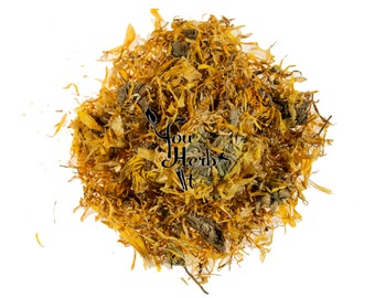 Calendula Marigold Loose Dried Petals & Flowers  - Superior Quality