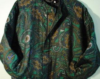 Paisley Zip Jacket