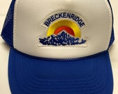 Youth/Kids Trucker Hat- with Retro Breckenridge patch
