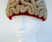 Crochet Pattern: The Brain Beanie