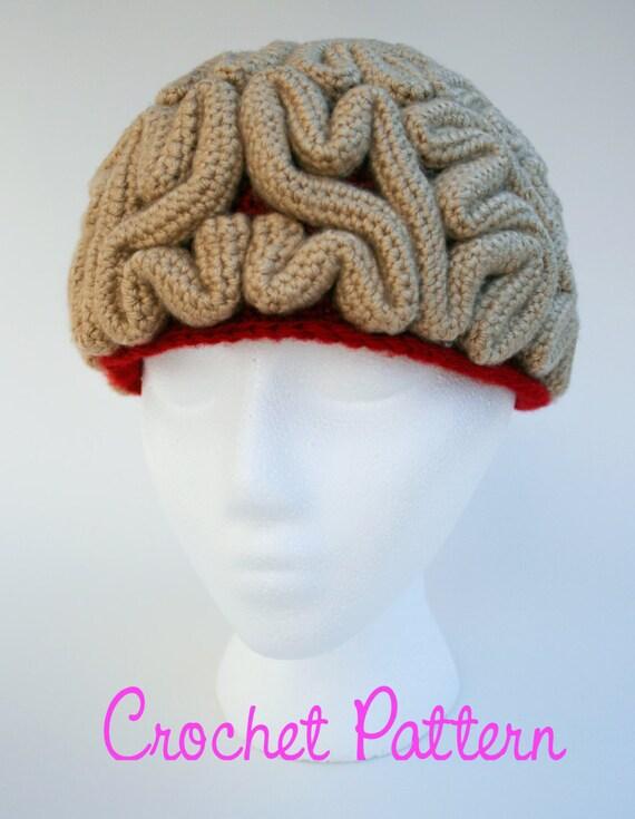 Crochet Pattern: The Brain Beanie