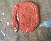 Red wax seal impression - Truth without fear
