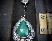poison ivy ... emerald pendant