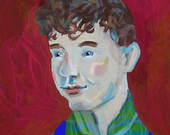 Gilbert Blythe ... Anne of Green Gables by L.M. Montgomery portrait series ... storybook series ... limited edition print