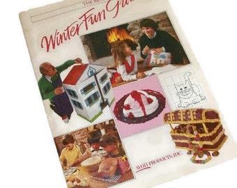 Avon The Best Winter Fun Guide Instruction Book
