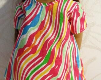 Fiesta Dress for 18 inch Doll