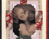 Lesbian Wedding Love Collage Card Gay Charmer