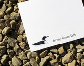 Loon Personalized Stationery