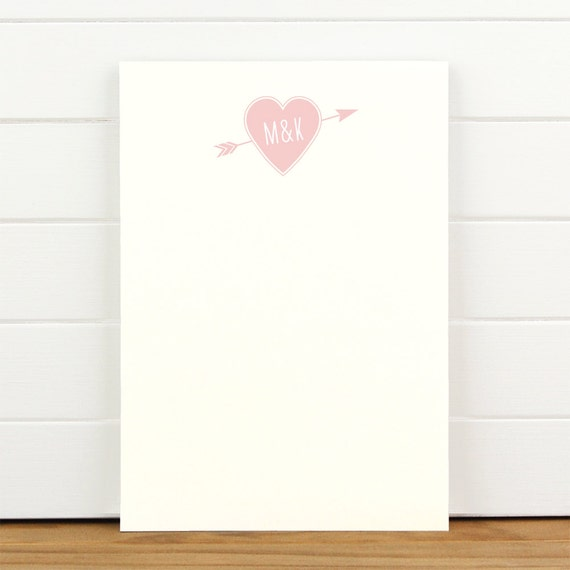 TRUE LOVE Personalized Notepad - Couples Wedding Engagement Love Note