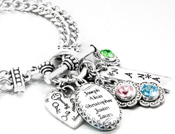 Mom Charm Bracelet Mother s Day Gift Mom Bracelet