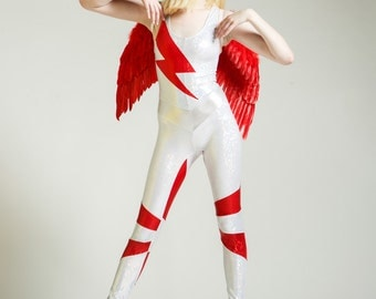 David Bowie Tribute Portal Suit for the Modern Superhero