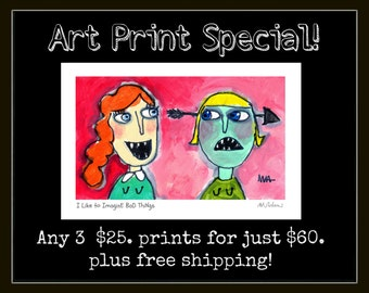 Art Print Special - 3 prints at a big discount plus free shipping!