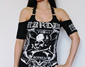 Marduk shirt black metal clothing tunic top alternative apparel reconstructed altered band tee t shirt rocker clothes dark style satanic