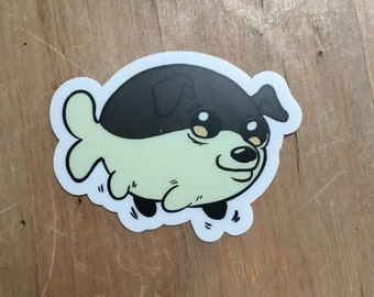 Pupperfish sticker