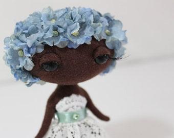 Fantasy Art Doll - Floral Moon Baby -Apolline