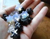 OPALITE merkaba pendant bead - occult sacred geometry focal bead