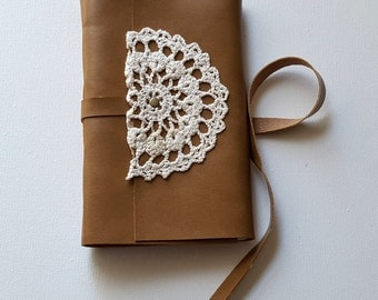 leather & lace journal