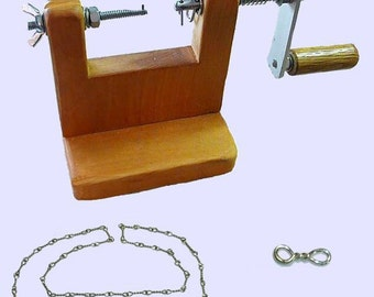Twisted Link Chain Jig, Chain Link Tool, Chain Link Jig, Handmade chain maker, Twist Chain Link Maker, Instructional DVD, Findings maker