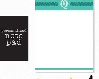 Customizable Initial Notepad