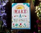 Make A Wish - Greeting Card - birthday