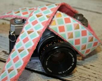 Camera Strap.dSLR Camera Strap. Cute Camera Strap. Padded Camera Strap. Designer Camera Strap. Camera Neck Strap. Comfortable Camera Strap.